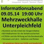 Informationsabend Plakat