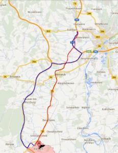 Kürnach - Schweinfurt West